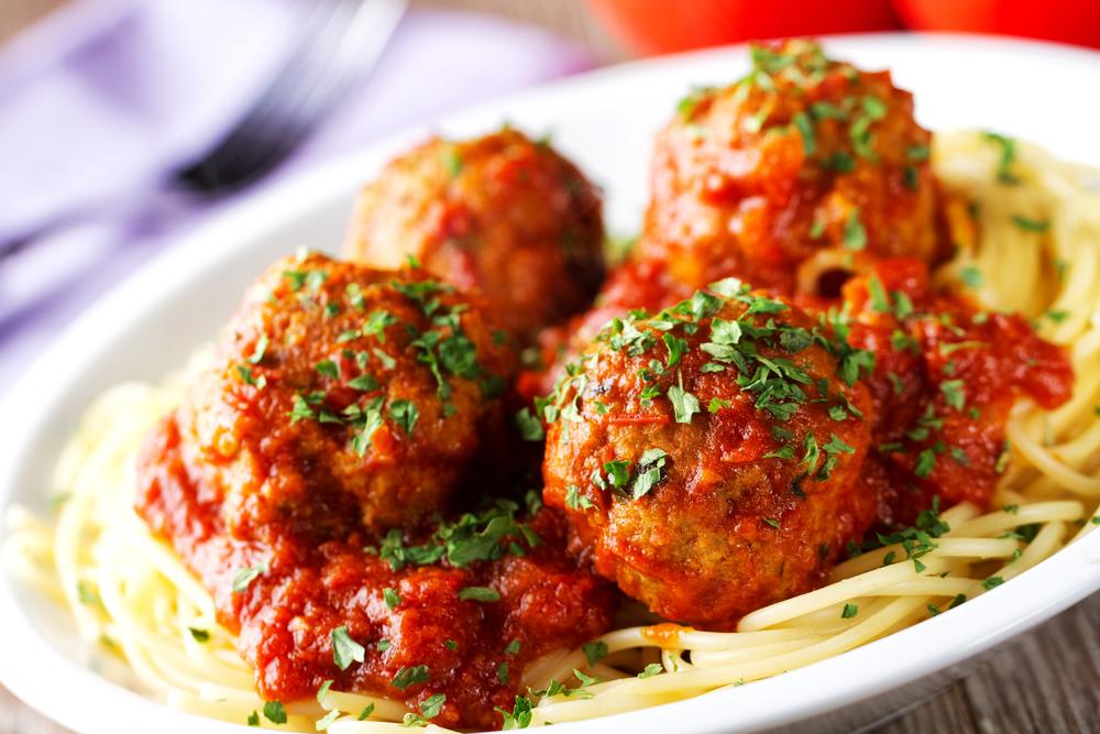 RECIPE: Herbed Meatballs & Spaghetti