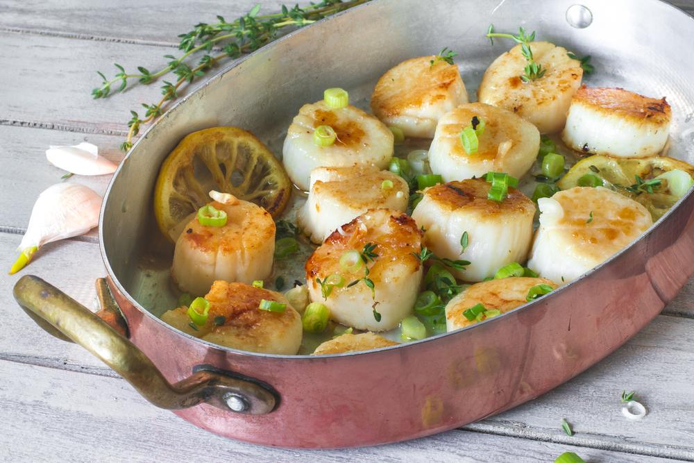 RECIPE: Garlic Lemon Scallops