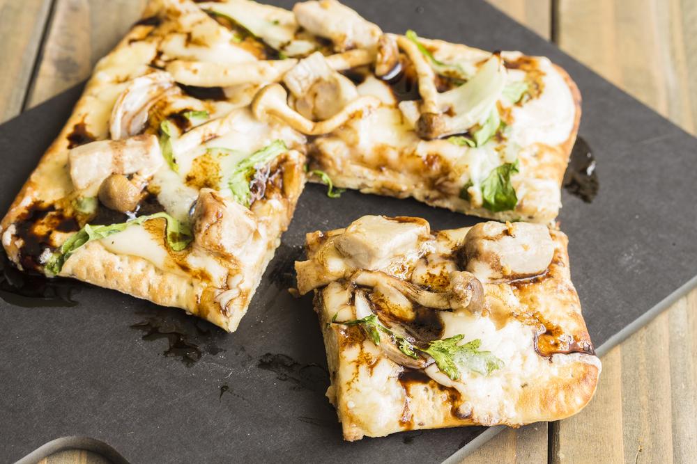 RECIPE: Mushroom Flatbread