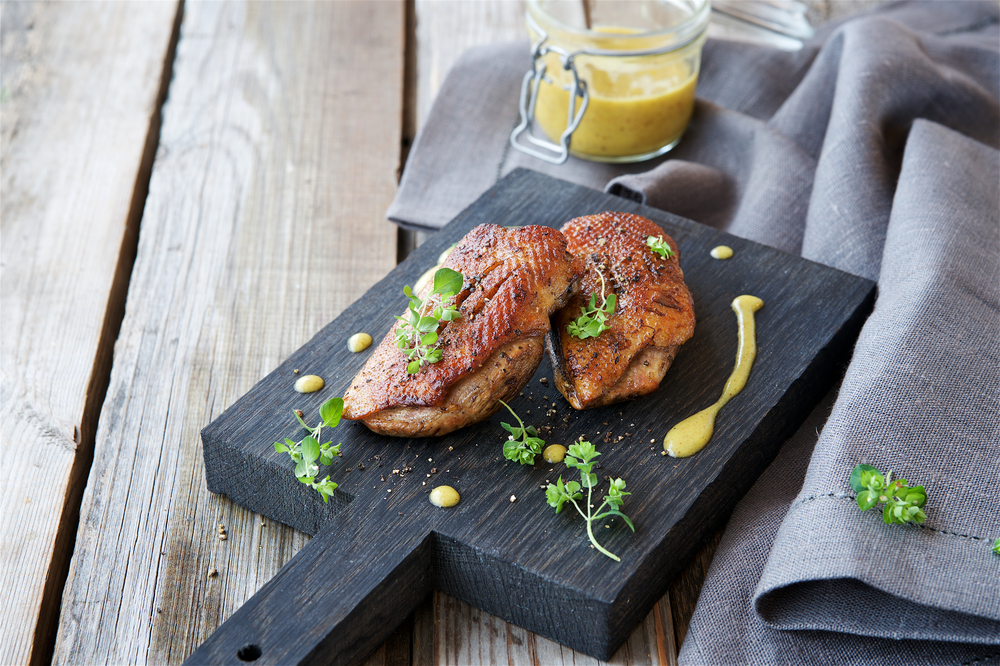 RECIPE: Spiced Duck Breast With Citrus-Honey Drizzle
