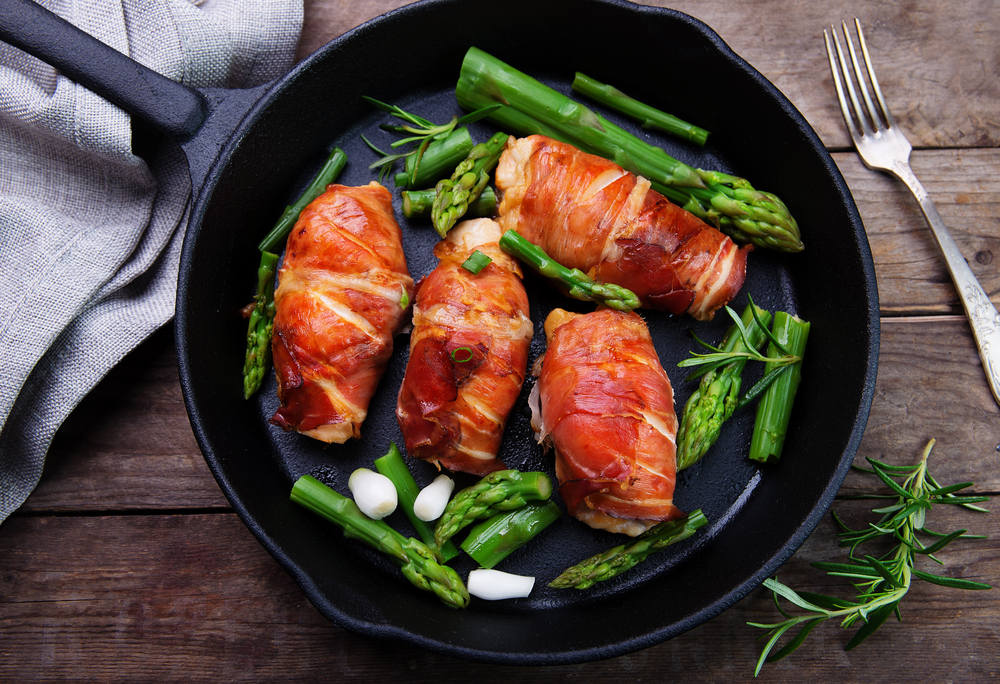 RECIPE: Prosciutto-Wrapped Chicken