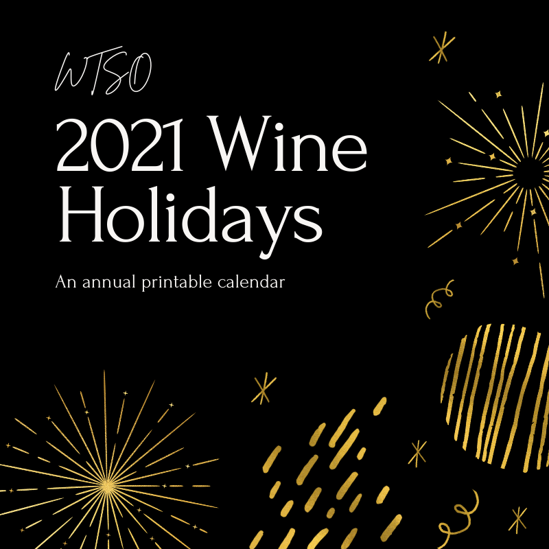 WTSO 2021 Wine Holiday Calendar