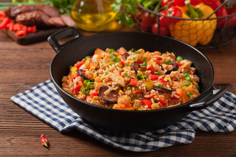 RECIPE: Chicken & Andouille Jambalaya