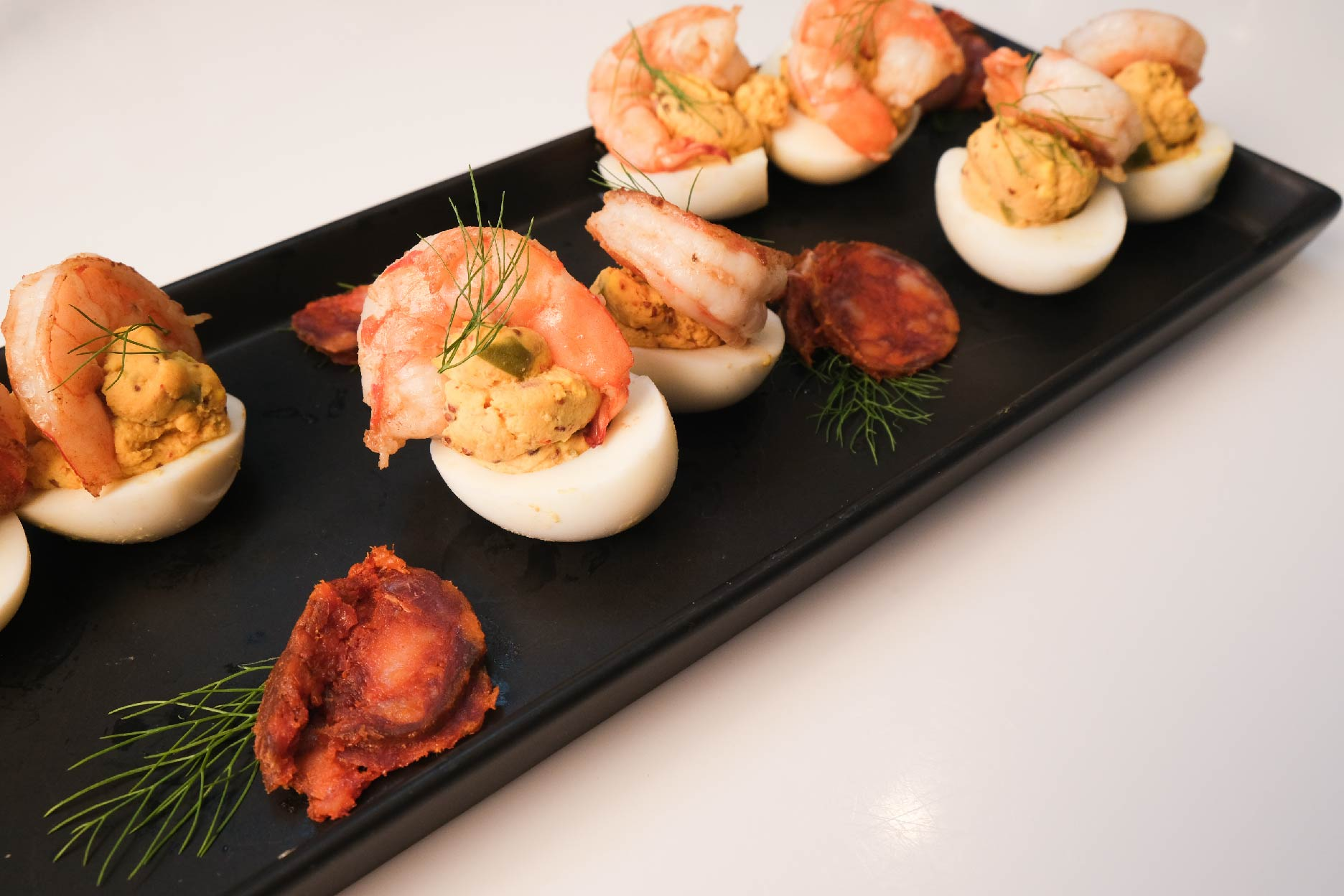RECIPE: Harissa Spiced Deviled Eggs