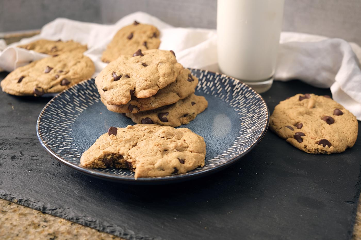 RECIPE: Tahini Chocolate Chip Cookies
