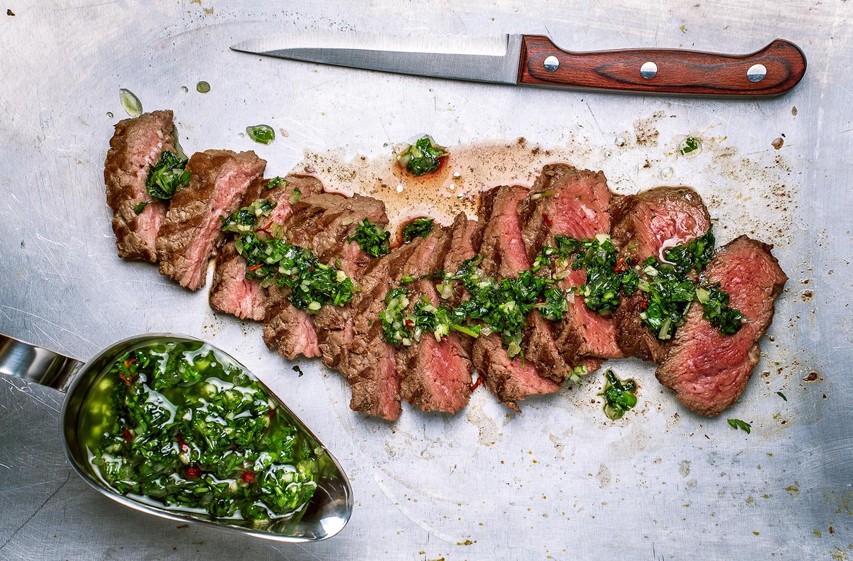 RECIPE: Culotte Steak with Spiced Herb Chutney